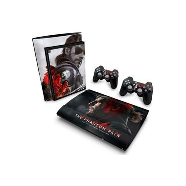 Skin Adesivo para PS3 Super Slim - Metal Gear Solid 5: The Phantom Pain