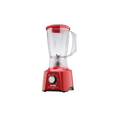 Imagem de Liquidificador Arno Power Mix LQ21 Copo de SAN Cristal 03 Velocidades + Pulsar 550W Vermelho