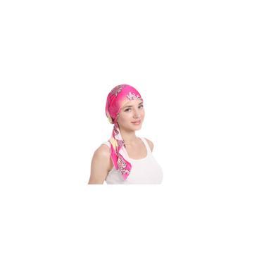 Cap Chefe Leite Silk muçulmana Cap Leite Silk pulôver Cap Turban Hat Head Scarf-F