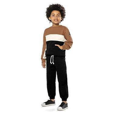 Conjunto Infantil Masculino Trick Nick Marrom 6