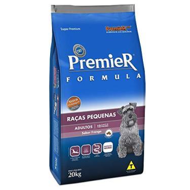 Ração Premier Fórmula para Cães Adultos de Raças Pequenas Sabor Frango, 20kg Premier Pet Raça Filhotes,