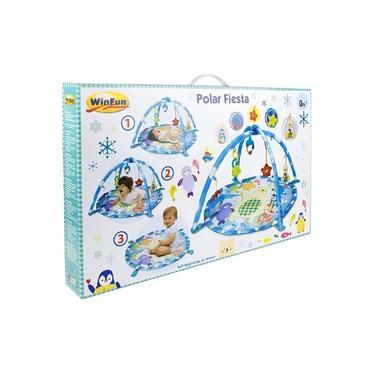 Imagem de Tapete de Atividades Win Fun Festa Polar 0843 Yes Toys