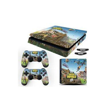 Adesivo Skin Playstation 4 Slim Fortnite