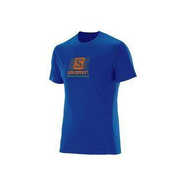 Camiseta Salomon Masculina - Running Ss Tee