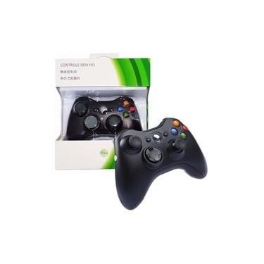 Controle Manete Sem Fio Xbox 360 Joystick Wireless Pc Game