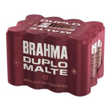 Cerveja Brahma Duplo Malte 350ml - 12 Unidades