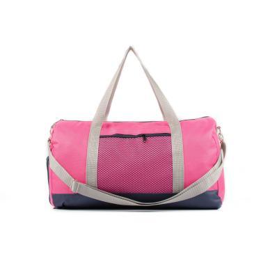 Bolsa Multiuso Feminina, Bolsa Para Academia Pink Com Porta Tênis Interno