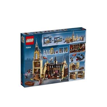 75954 - Brinquedo Lego Kit de Construção Harry Potter Grande Salão de Hogwarts