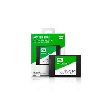 Ssd. 1Tb WD Green Sata 3 545mb/s Leitura - 430mb/s Gravacao WDS100T2G0A Western Digital