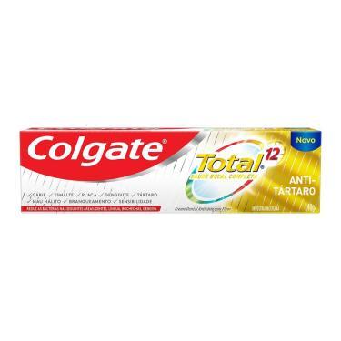 Pasta de Dente Colgate Total 12 Anti Tártaro com 140g 140g