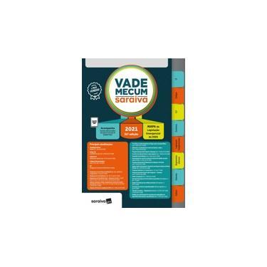 Imagem de Livro - Vade Mecum 2021 Saraiva - Tradicional - 31ª Edição: inclui Mapa de Legislação Emergencial