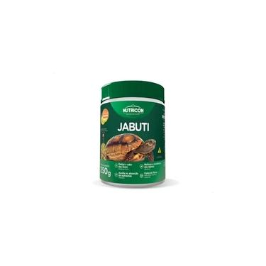 Alimento P/ Jabuti Ração Nutricon Jabuti 250g