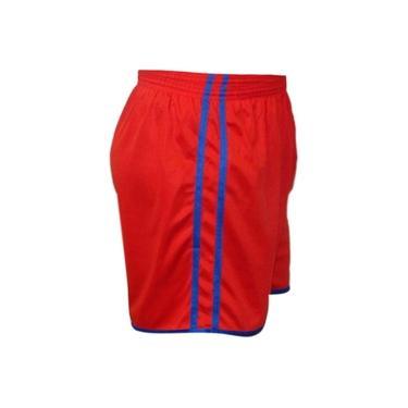 Imagem de Calção Futebol Kanga Sport Modelo 2 Faixa Tecido Em Dry Fit
