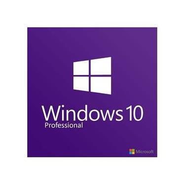Licença Microsoft Windows 10 Professional 32/64 Bits COEM