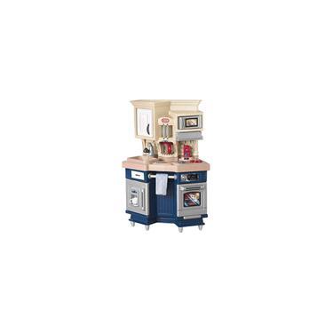 Imagem de Little Tikes Super Chef Kitchen Blue & Cream, 14,00 l x 28,00 l x 40,00 h polegadas