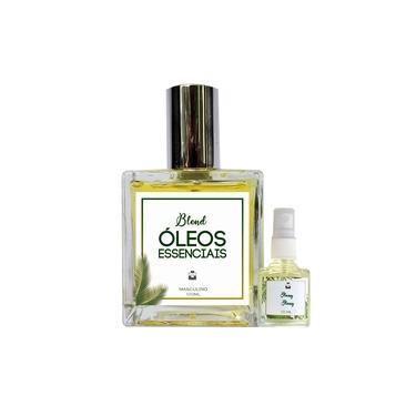 Imagem de Perfume Acácia & Camomila Suave 100ml Masculino - Blend de Óleo Essencial Natural + Mini Perfume