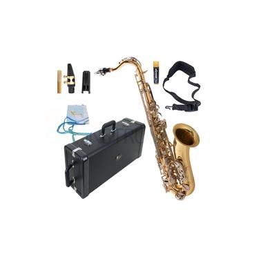 Imagem de Saxofone Tenor Eagle ST503 Laqueado com Chaves Niqueladas
