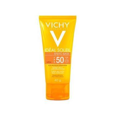 Protetor Solar Vichy Ideal Soleil Efeito Base Fps50 Cor Média 40g