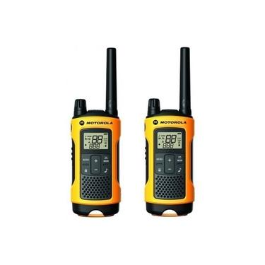 Radio Motorola Talkabout Serie T400 2-Way (2 Pack)-Amarelo