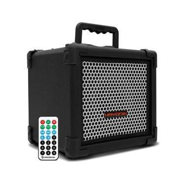 Caixa Amplificada Hayonik Multiuso Player 80 USB 20W Preto Instrumentos Controle