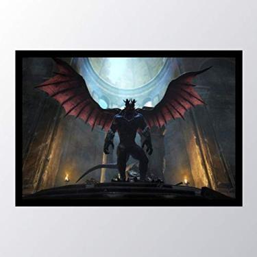 Quadro com moldura Dragons Dogma Dark_001
