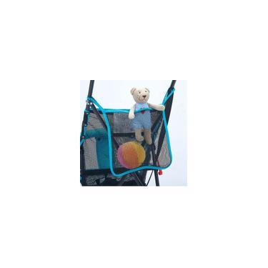 Imagem de Carrinho de bebê carrinho de bebê carrinho de malha saco de armazenamento de carrinho de bebê acessórios loja de viagem para fora da porta conveniente simples múmia favor durável protable