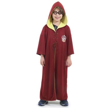 Imagem de Fantasia Harry Potter Quadribol Infantil Original com Óculos - Harry Potter G