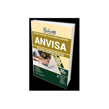Imagem de Apostila ANVISA 2021 - Técnico Administrativo