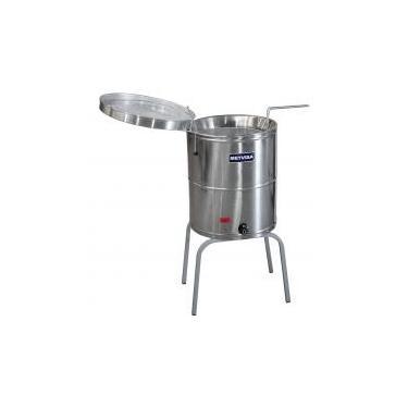 Fritadeira Elétrica Água e Óleo Inox FIE.20 39 L 220 V Metvisa -