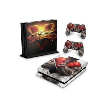 Skin Adesivo para PS4 Fat - Street Fighter V