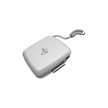 Bateria Externa Mobimax Powermat Dual 1200, Branca