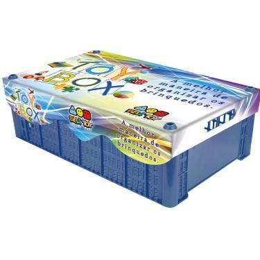 Caixa Organizadora Bell Toy - Toy Box - Azul