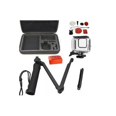 Kit P Gopro Hero 8 Black Estanque Tripé 3 Way Kit Surf Bóia