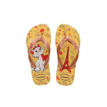 Chinelos Kids Top Marie Havaianas Amarelo Limao Chinelos Kids Top Mari