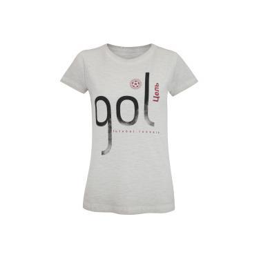 71935e04ea Camiseta Adams Gol - Feminina - BEGE Adams