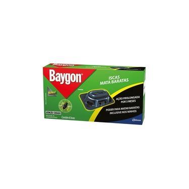 Inseticida em Isca Mata Barata - 6 unidades - Baygon