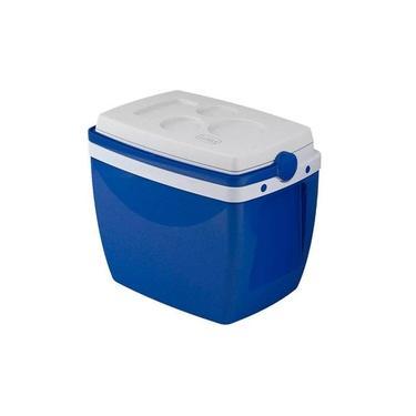 Imagem de Caixa térmica 18 litros azul - Mor