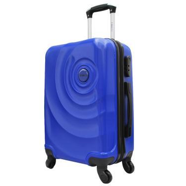 Mala Viagem Pequena ABS c/4 Rodinhas 360º Azul Ys21061a