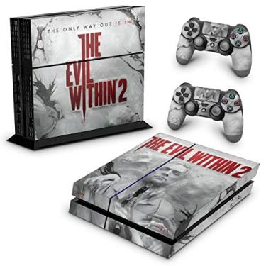 Skin Adesivo para PS4 Fat - The Evil Within 2
