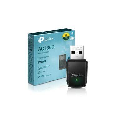 Adaptador Usb Wifi Tp-link Archer T3u Dual Band Ac 1300mbps Preto