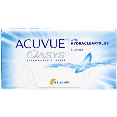 aaaae08f8b62b Johnson   Johnson Lente de Contato Acuvue Oasys com Hydraclear Plus -6,50  Incolor