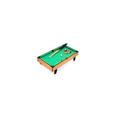Imagem de Mini mesa de Bilhar (69x36,5x21,5 Grande) Sinuca Snooker Infantil + Acessórios