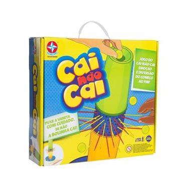 Imagem de Jogo Cai Não Cai da Estrela Brinquedos Varetas