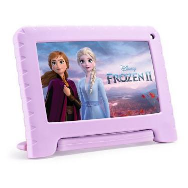 Imagem de Tablet Infantil Frozen Tela 7 32GB 1GB Ram Multilaser - Lilas