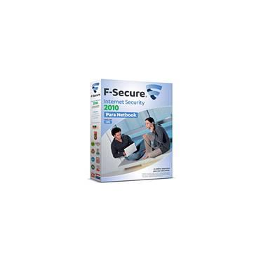 F Secure Internet Security p/ 1 Notebook 2010 - F Secure