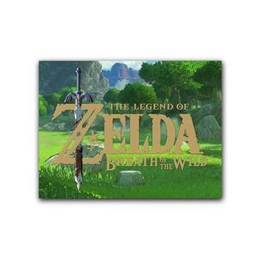 Placa Decorativa MDF Ambientes 20 cm x 30 cm - The Legend of Zelda: Breath of the Wild Nintendo (BD11)