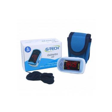 Oxímetro Digital Portátil de Dedo de Pulso Led G-Tech