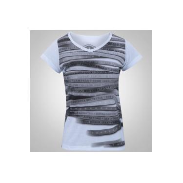 69121b0782d5e Camiseta do Botafogo Line - Feminina - BRANCO Braziline