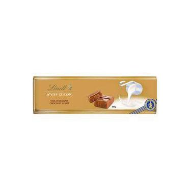Chocolate Suiço Lindt Ao Leite Swiss Gold Bar 300g