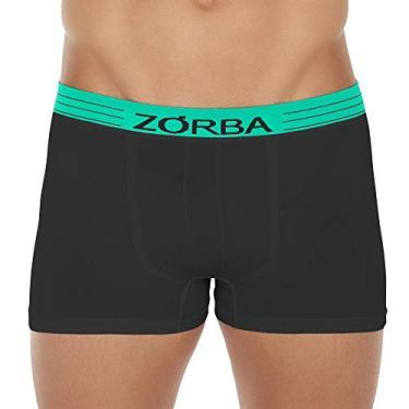 Cueca Boxer Zorba Extreme Seamless Sea Microfibra 845 M Preto
